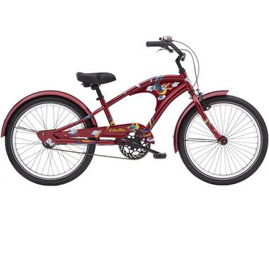 "Vélo Beach Cruiser ELECTRA FIRETAIL 3i 20"" Rouge 2020"